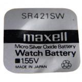 Maxell SR421SW 1.55V ezüst-oxid gombelem