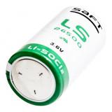 Saft LS26500 C ipari lítium elem, 3.6 V, 7700 mAh