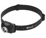 Solidline SH2 LED fejlámpa, fókusz, REDLIGHT, 3 x AAA, 200/100/20 lm (bliszteres)