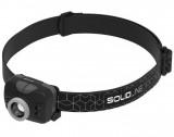 Solidline SH5 LED fejlámpa, fókusz, REDLIGHT, hand on/off, 3 x AAA, 350/220/100/20 lm (bliszteres)