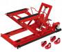 Torin Big Red T66751-CE motorkerékpár és quad szerelő / emelő állvány, hidraulikus, 400 kg-ig
