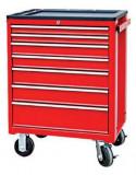 Torin Big Red TBR3007BP-X szerszámos szekrény műanyag tetővel, 7 fiókos