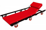 Torin Big Red TR6452 6-kerekű gurulós aláfekvő, fém, dönthető fejtámlás, mechanikus