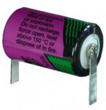 Tadiran SL-550/T 1/2AA ipari lítium elem, 3.6 V, 800 mAh