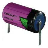 Tadiran SL-2770/T C (baby) ipari lítium elem, 3.6 V, 8500 mAh