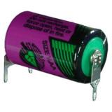 Tadiran SL-750/PT 1/2AA ipari lítium elem, 3.6 V, 1100 mAh