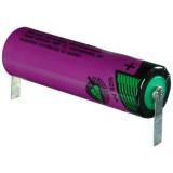 Tadiran SL-760/T AA (ceruza) ipari lítium elem, 3.6 V, 2200 mAh