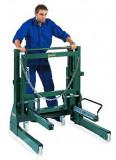 COMPAC Hydraulik WD800-G1 kerékmozgató állvány szimpla és dupla teherautó kerekekhez, max. 800 kg