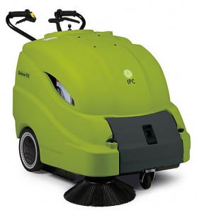 IPC Gansow 512 ET akkumulátoros seprőgép + szőnyegtisztító funkció + elektromos szűrőrázó termék fő termékképe