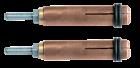 GYS Csavarbefogó elektróda 4 mm-es csavarokhoz, 2db/csomag