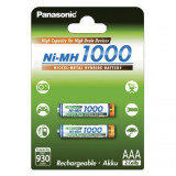 Panasonic BK-4HGAE/2BE Ni-MH akkumulátor, AAA (micro), 1000 mAh, 2db/bliszter