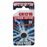 Maxell CR1216 3V lítium gombelem, 1db/bliszter