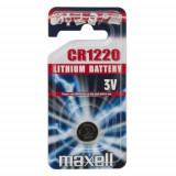 Maxell CR1220 3V lítium gombelem, 1db/bliszter