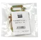 GYS Alátét, M4, csavarozható, 5db/csomag