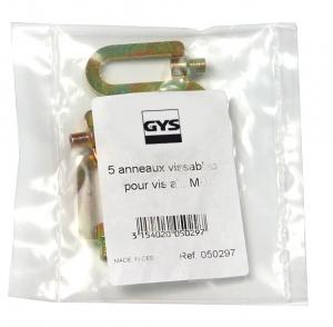 GYS Alátét, M4, csavarozható, 5db/csomag termék fő termékképe