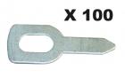 GYS Kihúzató alátét, egyenes, 100db/csomag