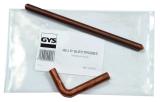 GYS Elektróda készlet X5-ös karhoz, 2részes