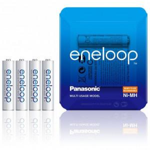 Panasonic 4MC-SP-4 eneloop Ni-MH akkumulátor, Sliding Pack, AAA (micro), 750 mAh, 4db/csomag termék fő termékképe