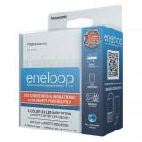 Panasonic BQ-CC87USB eneloop akkumulátor töltő időzítővel és Powerbank funkcióval AA / AAA akkuhoz
