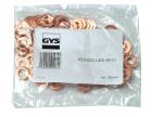 GYS Kör alátét, Ø 8x16, 100db/csomag