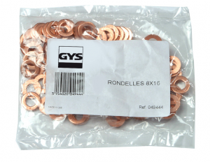 GYS Kör alátét, Ø 8x16, 100db/csomag termék fő termékképe