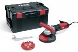 Flex LD 16-8 125 R Kit kompakt betoncsiszoló Estrich-Jet csiszoló tányérral
