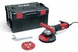 Flex LDE 16-8 125 R Kit kompakt betoncsiszoló Estrich-Jet csiszoló tányérral