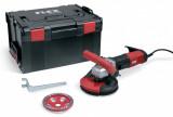 Flex LDE 16-8 125 R Kit kompakt betoncsiszoló Turbo-Jet csiszoló tányérral