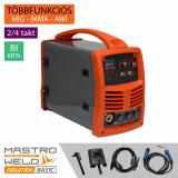 Mastroweld Basic MIG-160 AI multifunkciós inverter - Basic