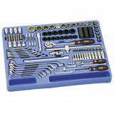 """Genius Tools MS-098M 1/4""""-os és 1/2""""-os szerszám készlet, metrikus, 98 részes"""