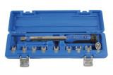 Laser Tools LAS-6167 nyomatékkulcs cserélhető fejekkel, kalibrálva, 10-50 Nm, 10 részes