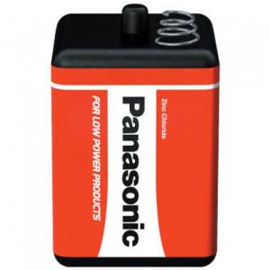 Panasonic 4R25R RED ZINC féltartós elem, 6 V-os hasáb, 1db/bliszter termék fő termékképe