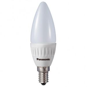 Panasonic LDAHV5L27CFE14EP Candle opál búrás LED gyertya égő, E14, 5 W (=30 W hagyományos izzó) termék fő termékképe