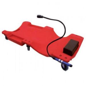 Torin Big Red PT-TRH6802-1 piros műanyag 6 kerekű gurulós aláfekvő lámpával termék fő termékképe