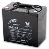 Ritar RA12-55-F11 ólomakkumulátor 12 V/55 Ah