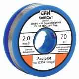 CFH RL 334 rádió forrasztóón, 70g/tekercs