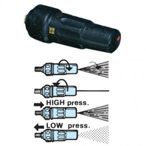 ZROTEK140 Rototek mosóhatást fokozó turbo fej, vegyszerező állással termék fő termékképe