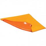Solent Csatornafedő, poliuretán, narancssárga, 46 x 46 cm