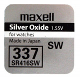 Maxell SR416SW 1.55V ezüst-oxid gombelem