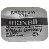 Maxell SR521SW 1.55V ezüst-oxid gombelem