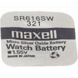 Maxell SR616SW 1.55V ezüst-oxid gombelem