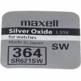 Maxell SR621SW 1.55V ezüst-oxid gombelem