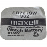 Maxell SR721SW 1.55V ezüst-oxid gombelem