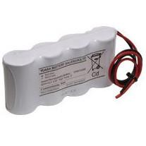 4.8V-os Ni-Cd Sub-C 1500mAh-s vészvilágítás akkupakk termék fő termékképe