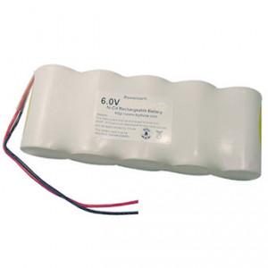 6V-os Ni-Cd Sub-C 1500mAh-s vészvilágítás akkupakk termék fő termékképe