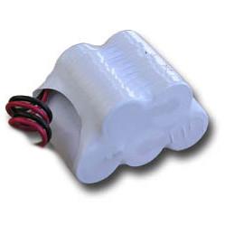6V-os Ni-Cd Sub-C 1500mAh-s vészvilágítás akkupakk, kétsoros termék fő termékképe