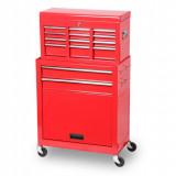 Torin Big Red TBR1302+TBT1306 szerszámos szekrény, 2 részes, 8 fiókos + 2 tárolós