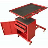 Torin Big Red TC304C emelhető munkatálcás, zárható szekrényes műszerállvány
