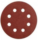 Makita excenterpapír 125mm barna 100-as szemcseméret