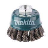 Makita M14-es befogású fonott drótkefe 60mm ⌀ 16mm 125/150